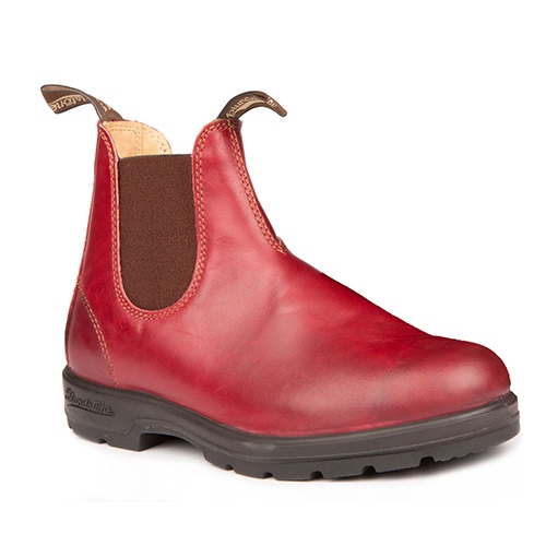 Blundstone Burgundy Rub Mens
