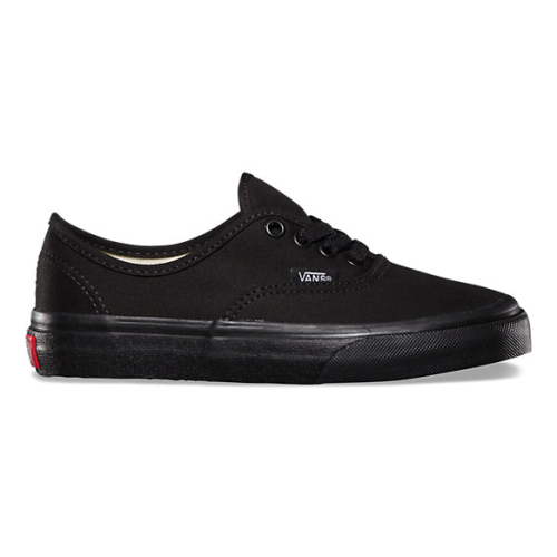 Vans kids authentic black1