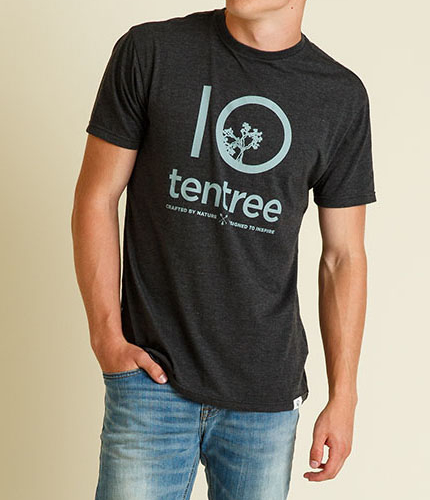 tentree teeshirt crafted