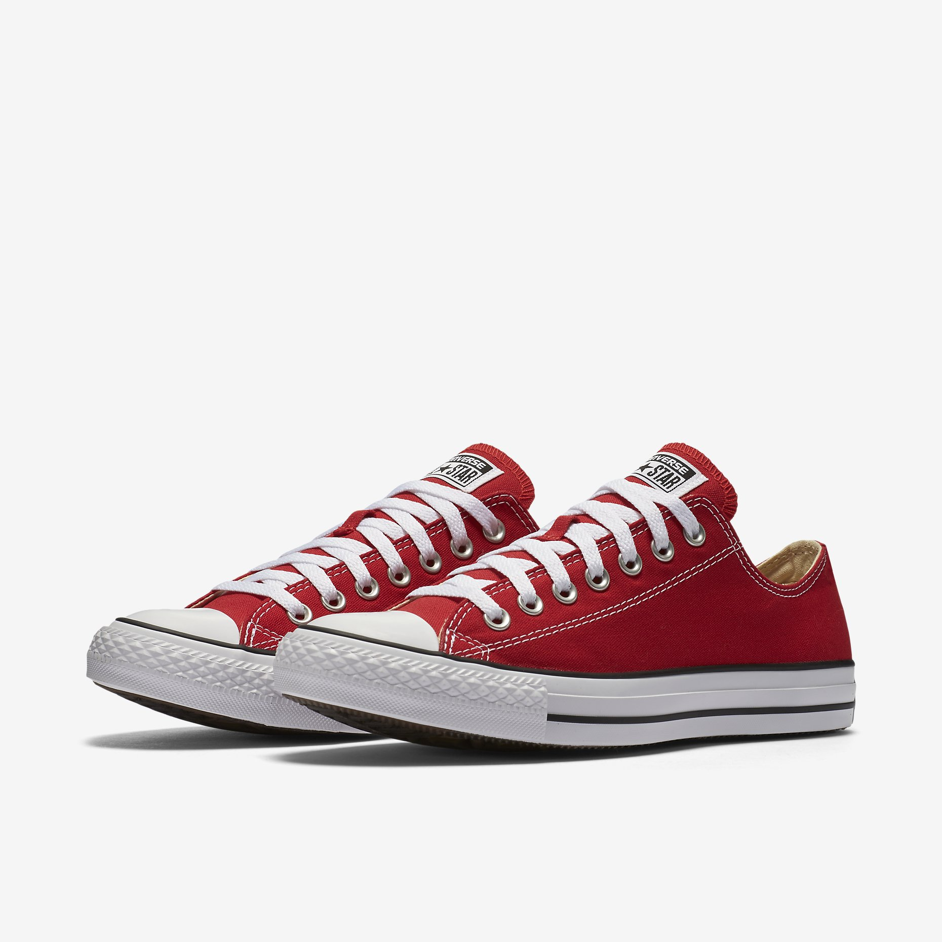 Converse Chuck Taylor All Star Low Top Red - Spinners Sports 328c41570