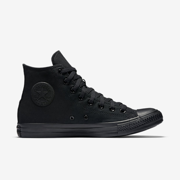 bb2ace0ea1af Converse Chuck Taylor All Star High Top Black Black - Spinners Sports