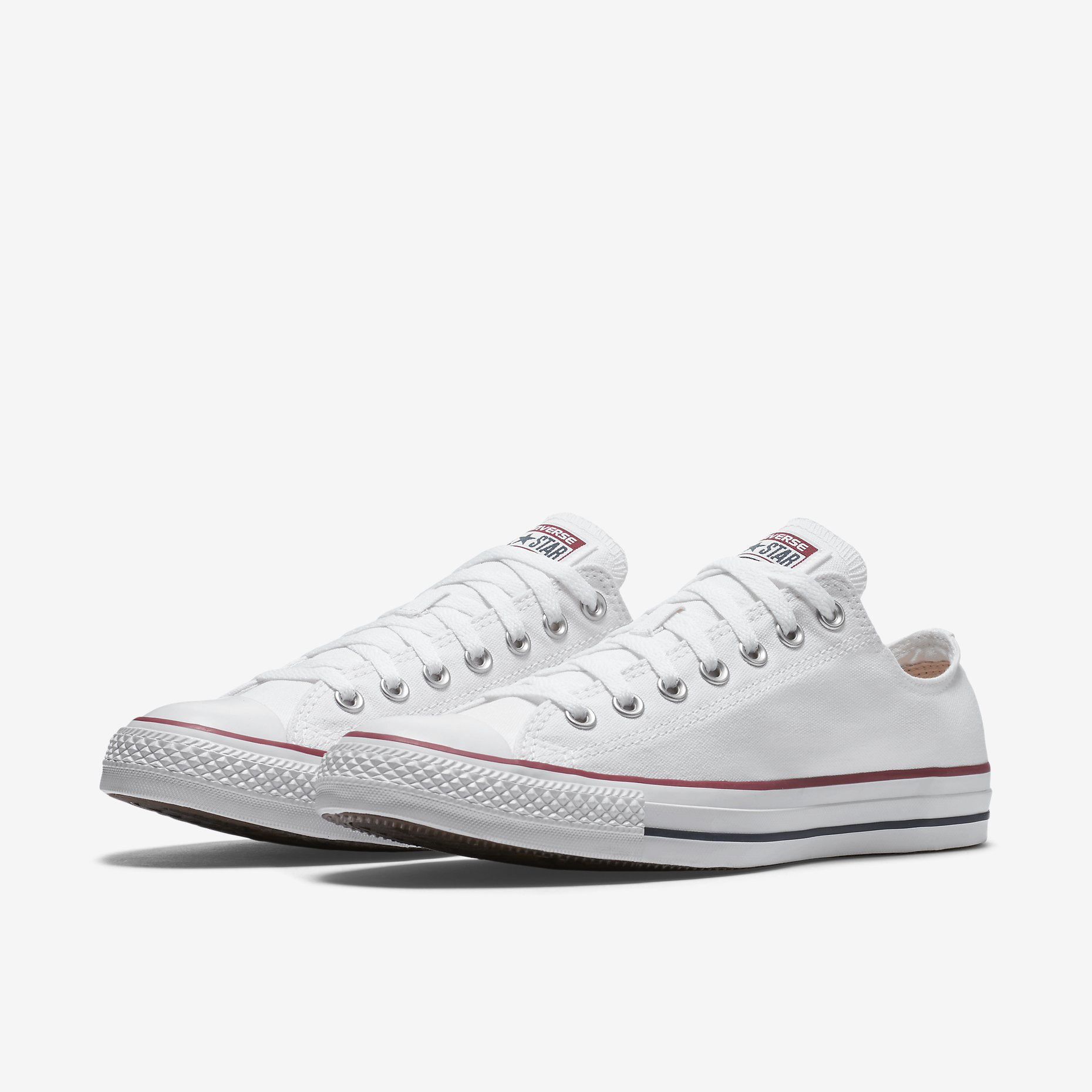Converse Chuck Taylor All Star Low Top White - Spinners Sports 12da2d82a6b7