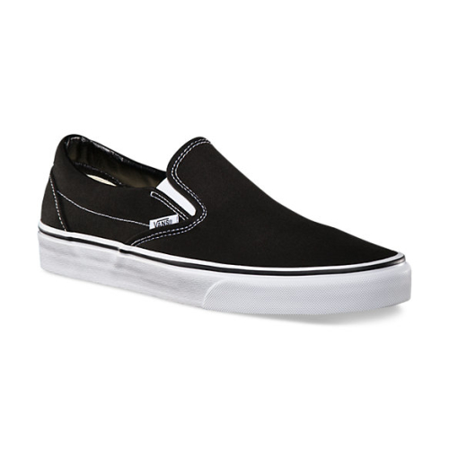 Vans Solid Colours Slip-On -- Black