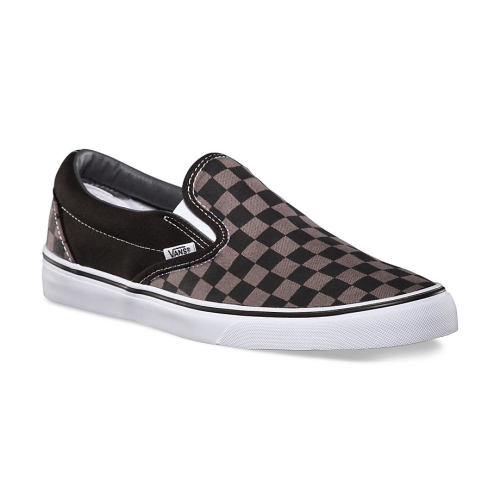 Vans Checkerboard Slip-On Black/Pewter Check