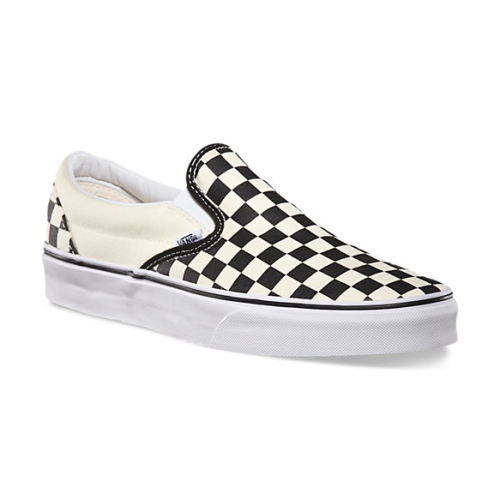 Checkerboard Slip-On  Black/Off White Check
