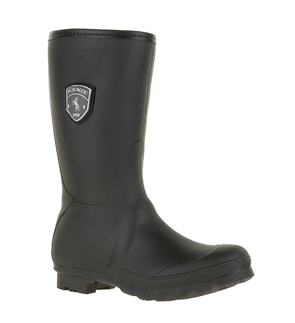 Popular KAMIK Ladies Short Rain Boots - (similar To Hunters)- Gloss Red Size 7 Victoria City Victoria